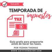 Guía gratis para hacer los impuestos o taxes