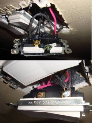 Fix ThreeWay Light Switch Wiring