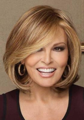 Penteados para cabelos médios para mulheres 50 + e: foto