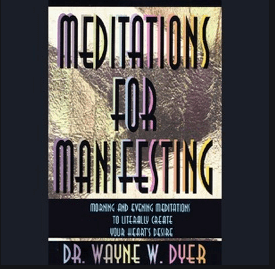 Meditations for Manifesting cover