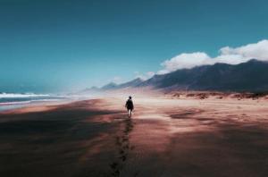Long walk ahead