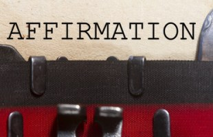 Creating Affirmations