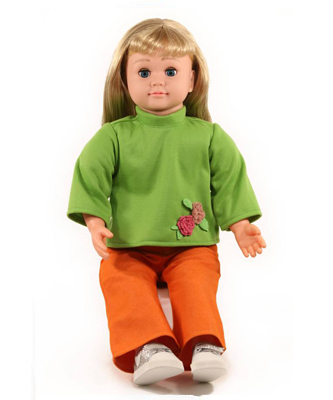 blond-green-doll