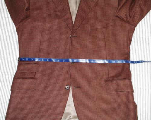 jacket waist measurement