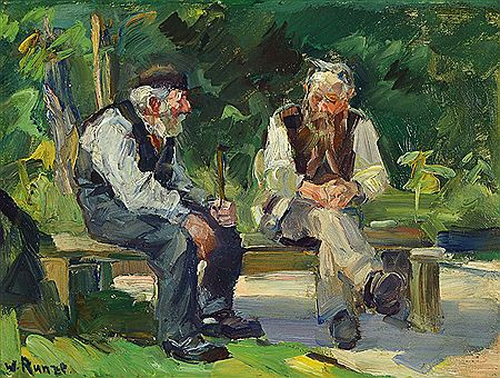 Image result for two old men talking