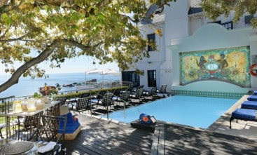 The pool deck - pic supplied