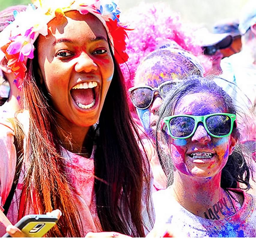 Giveaway: Durban Color Run entries