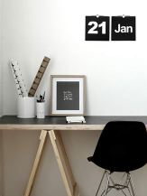 Black Trestle Table top from Mono Online Shop