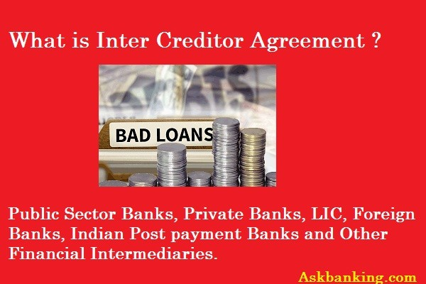 What Is Inter Creditor Agreement Ica Signed By Banks