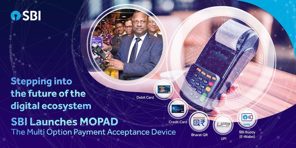 SBI-MOPAD- Multi Option Payment Acceptance Device