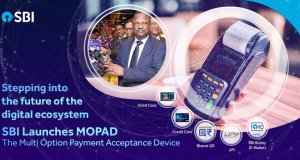 SBI-MOPAD- Multi Option Payment Acceptance Device