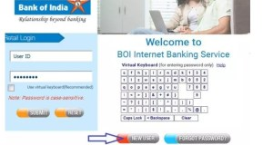 BOI Internet Banking Password Generation