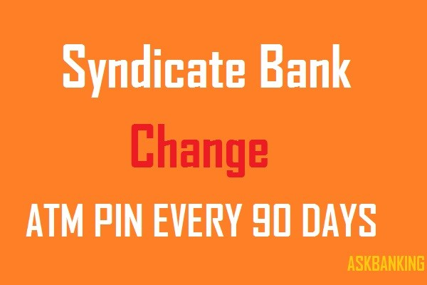 SYNDICATE-BANK-ATM-PIN-CHANGE