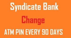 SYNDICATE-BANK-ATM-PIN-CHANGE