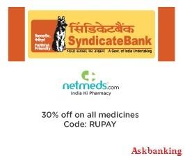syndicatebank-netmeds-offer