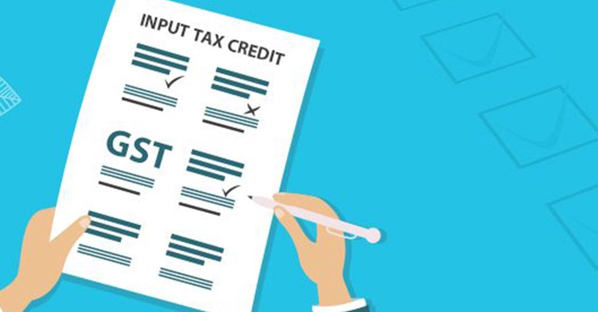 input-tax-credit claim
