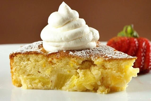 Tasty Upside Down Pineapple Cake