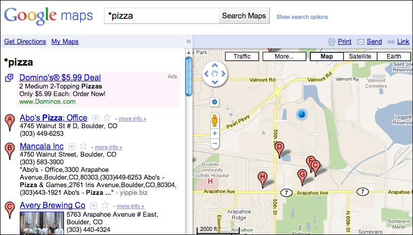 Restaurants Near Closest Pizza Me