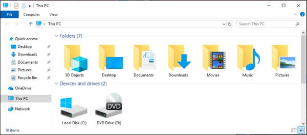 Change File Explorer to Dark Mode in Windows 10? - Ask ...