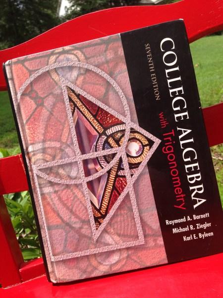 Homeschool Algebra 2 with Trig - high school math - College Algebra Textbook