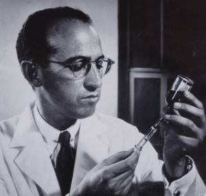 Jonas Salk and other scientists faced a number of bottlenecks on their way to creating safe and effective polio vaccines.