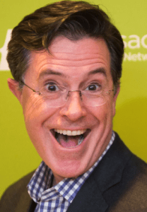 What does famous comedian Stephen Colbert share with the late, great Stephen Covey, and the people who psychologists find time and time again achieving the most success and happiness? A strong belief in agency. Image attribution: CC-by-SA 2.0, Wikimedia Commons.