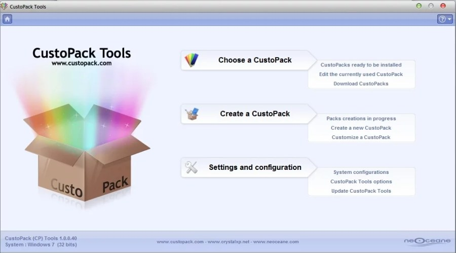 CustoPack Tools_windows look like mac