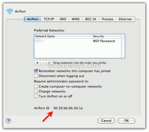 IP Address and MAC Address in Mac_asKeygeek