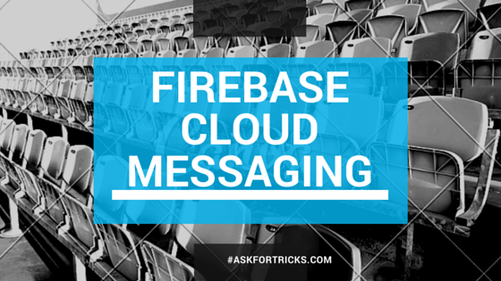 Android Push Notification using Firebase Cloud Messaging.