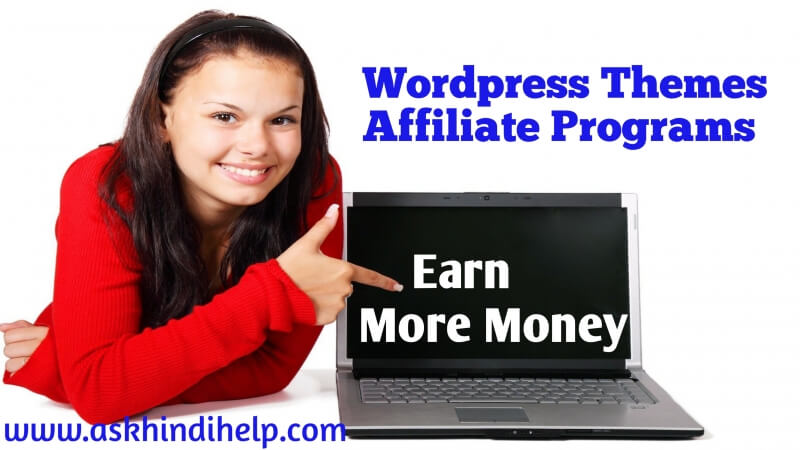 10 WordPress Themes Affiliate Programs in Hindi