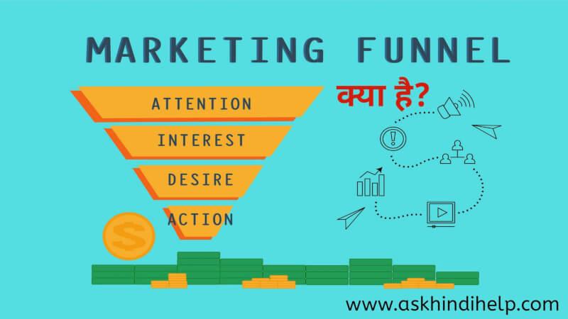 What is Marketing Funnel ? Marketing Funnel क्या है?,विपणन फ़नल में कितने चरण होते हैं?The Marketing Funnel Stages
