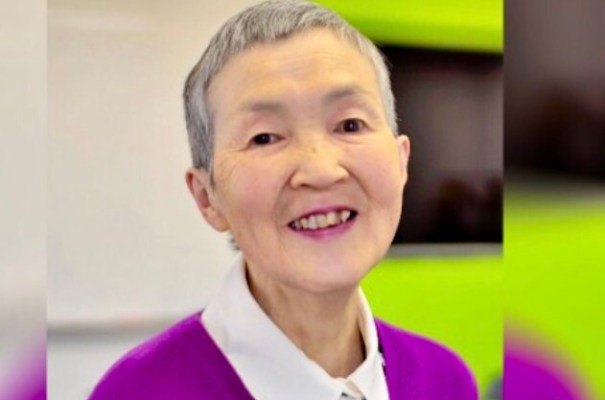Head shot of 82 year old programmer Masako Wakamiy