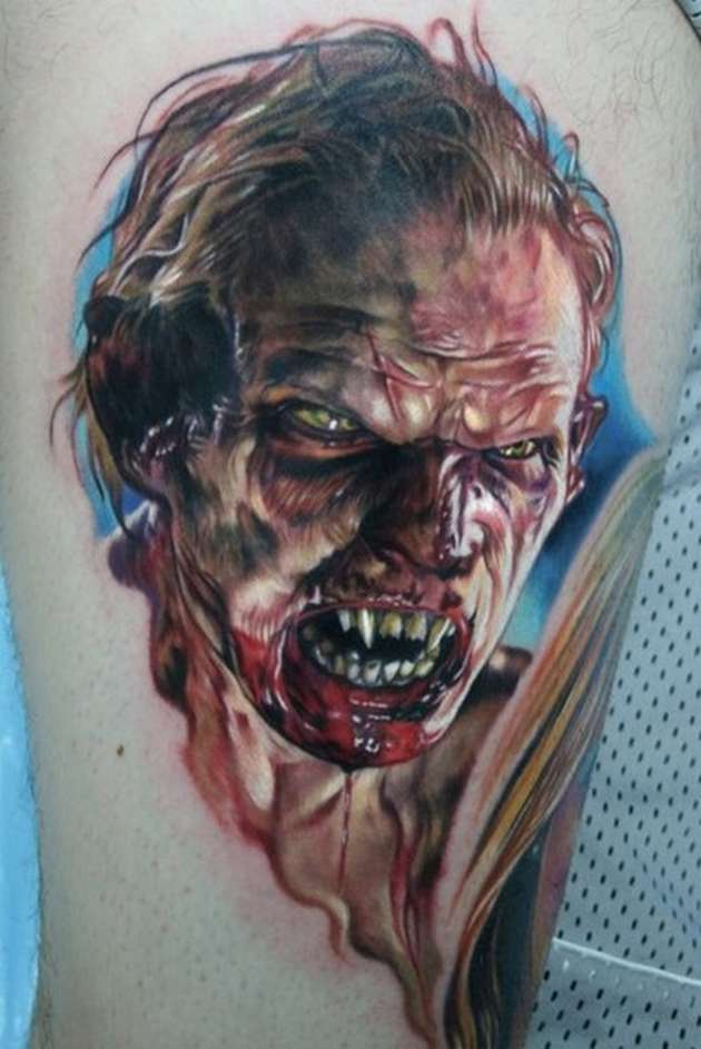 Funny Pictures 3d Tattoo