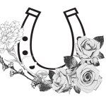 8 Nice Horseshoe Tattoo Art Designs