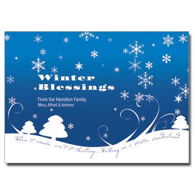 11 Beautiful Winter Greeting Cards