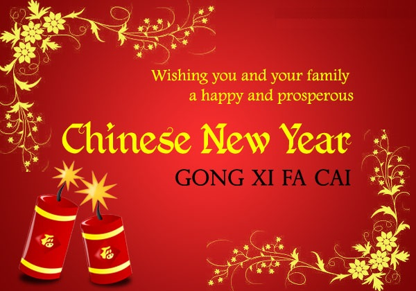 Chinese Years Happy Have Safe New