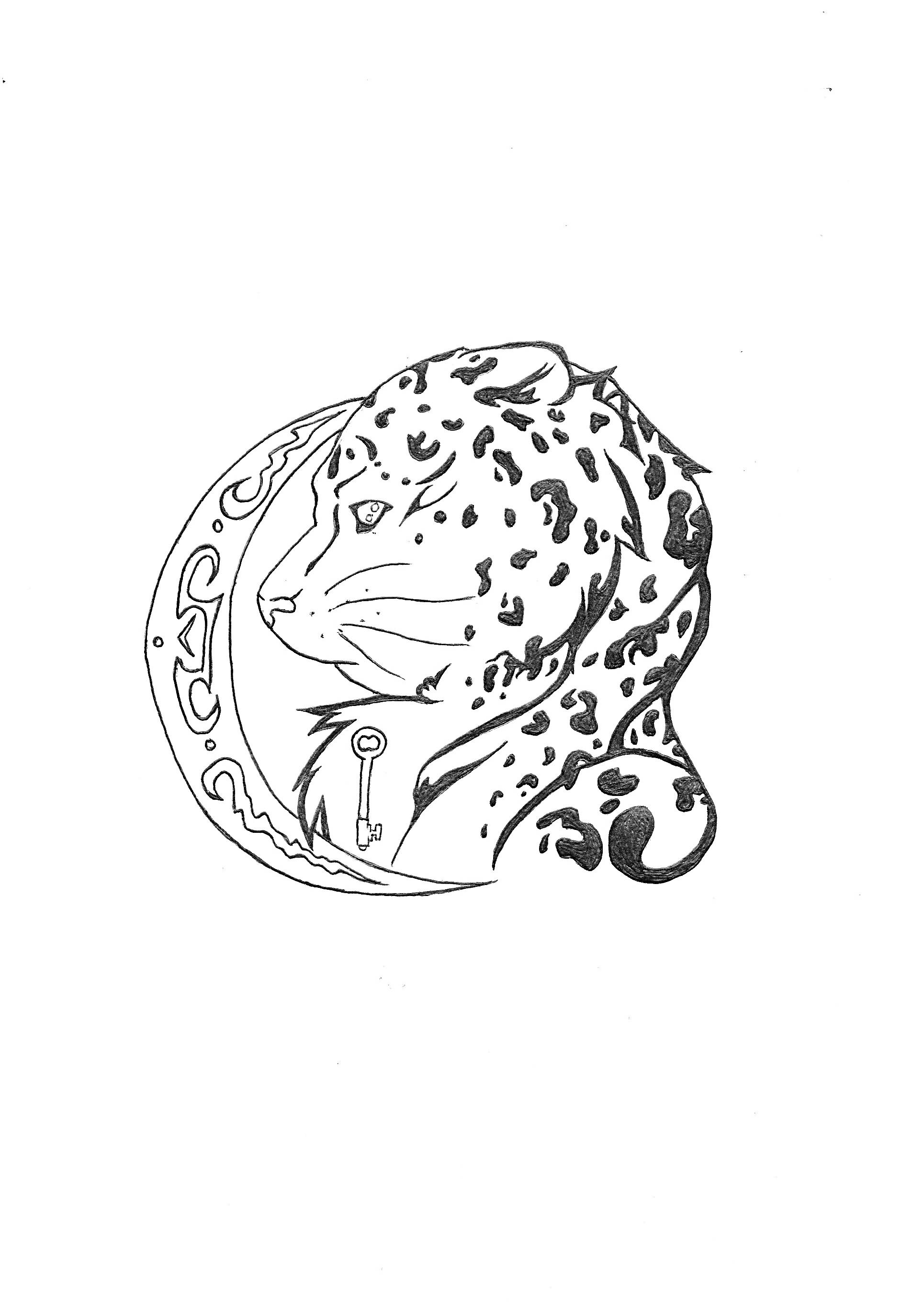 14 Leopard Tattoo Designs And Sketches