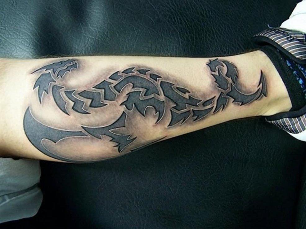 25 Incredible 3d Dragon Tattoos