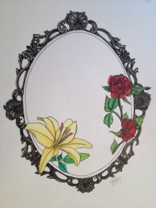 frame tattoo designs. Oval Frame Tattoo Design. Creative Floral Flower Borders And Frames Free  Border Templates With Pansies Designs A
