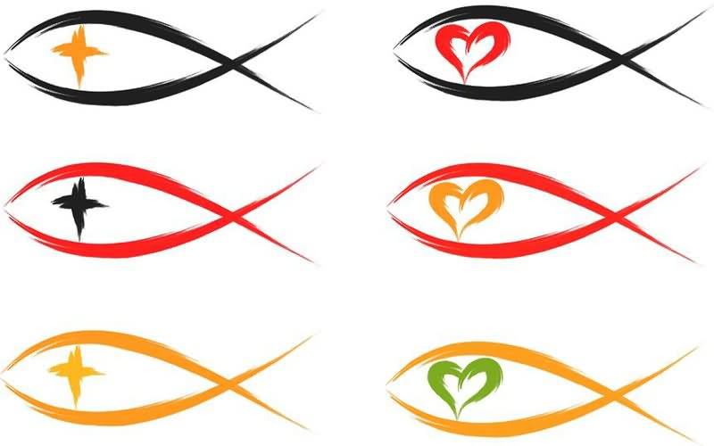Christian Fish Symbol Ixoye Meaning