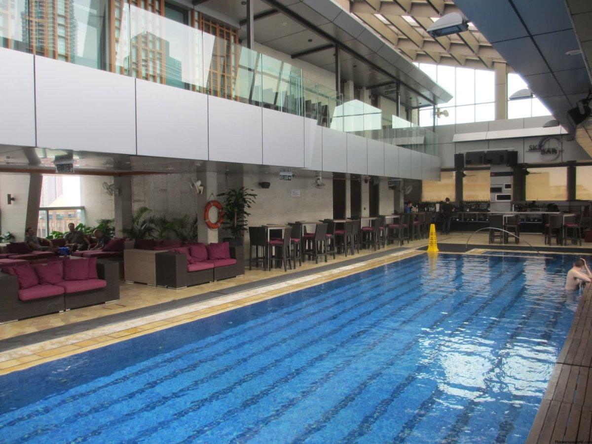 Swimming Pool Inside Petronas Towers