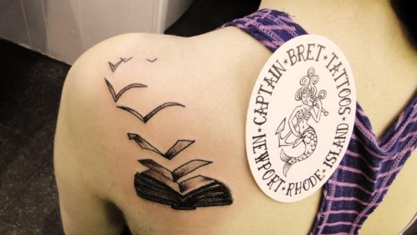 40+ Incredible Literary Book Tattoos