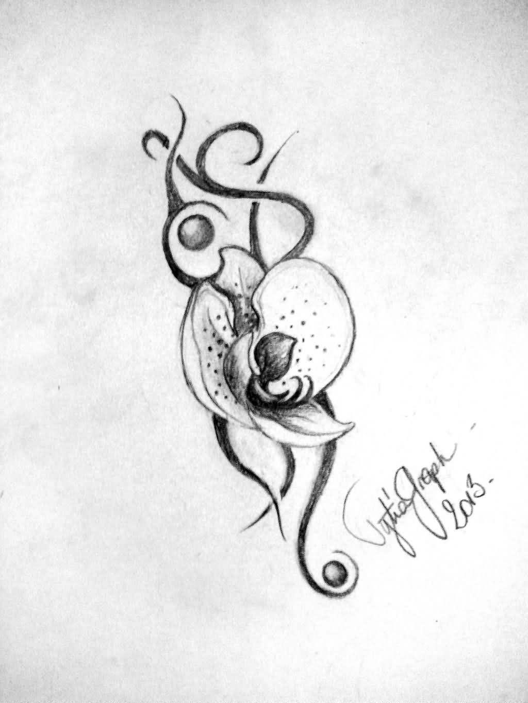 Cattleya Flower Tattoo Meaning Classycloudco