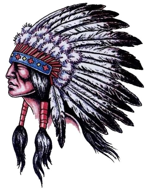 Cherokee Indian Headdress Tattoos