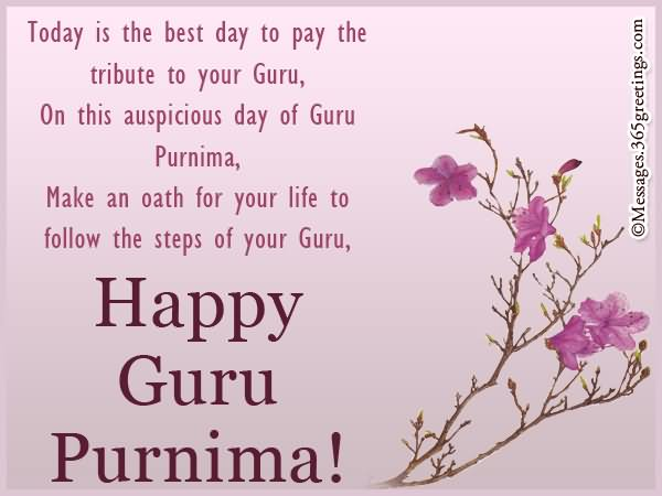 40 Awesome Guru Purnima Greeting Pictures And Photos
