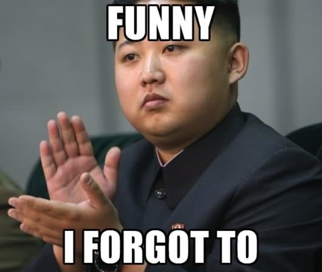 Kim Jong Un Funny Meme For Facebook Comment Photo