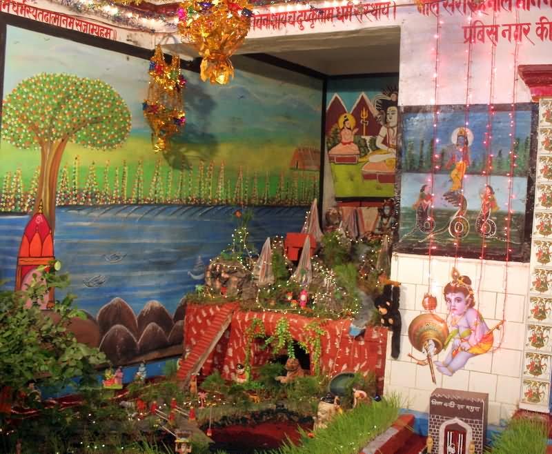 School Decoration Ideas For Janmashtami Why Santa Claus