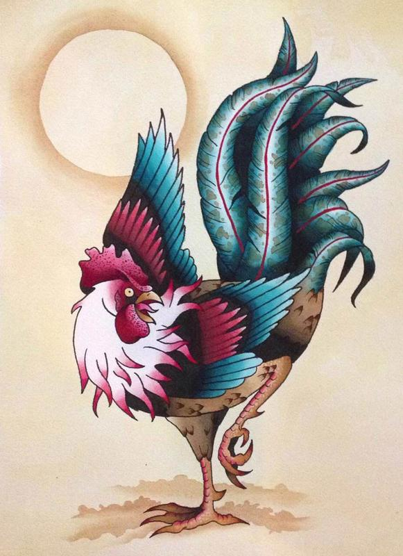 9 Rooster Tattoo Designs Ideas And Meaning 2018 Styles At Life