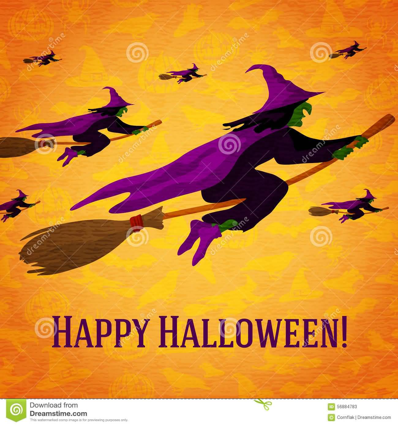 22 Most Beautiful Happy Halloween Greeting Card Images And