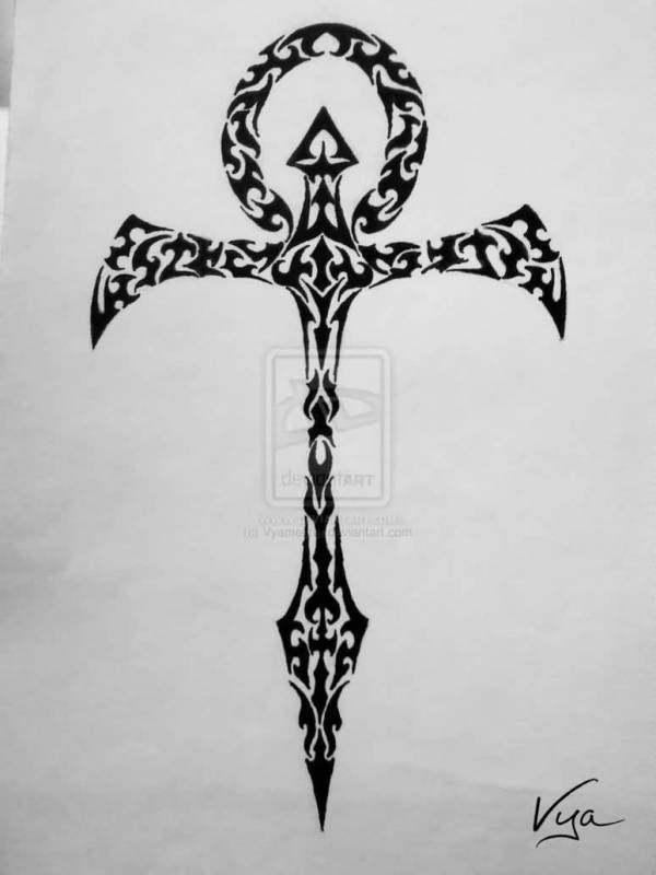 44 Wonderful Ankh Tattoos Designs
